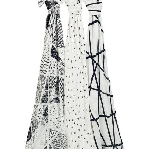 Aden+Anais Silky Soft Bamboo Muslin Baby Swaddles Burp Clothes Nursing Cover