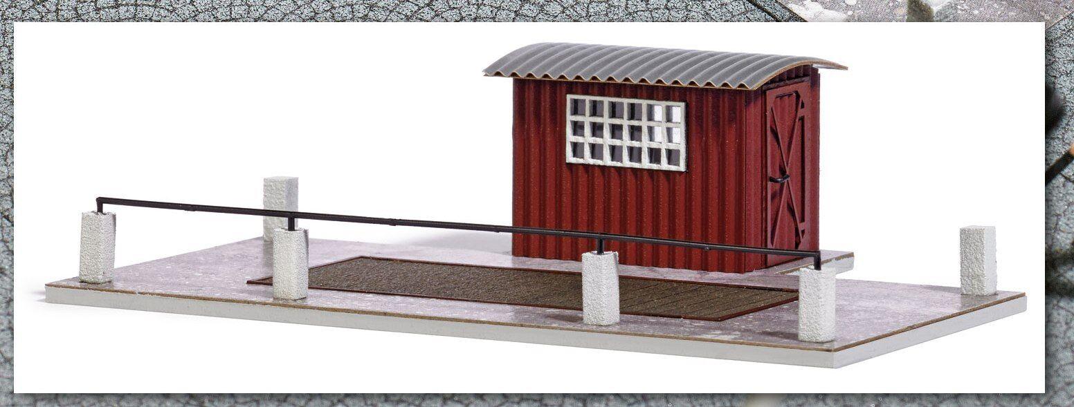 Busch 1649 H0 Bausatz LKW Waage 1 87