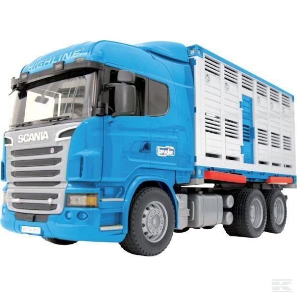 Faites plaisir à vos clients Bruder Bruder Bruder Scania remorque pour animaux échelle 1:16 Modèle   Les Consommateurs D'abord  6fba45
