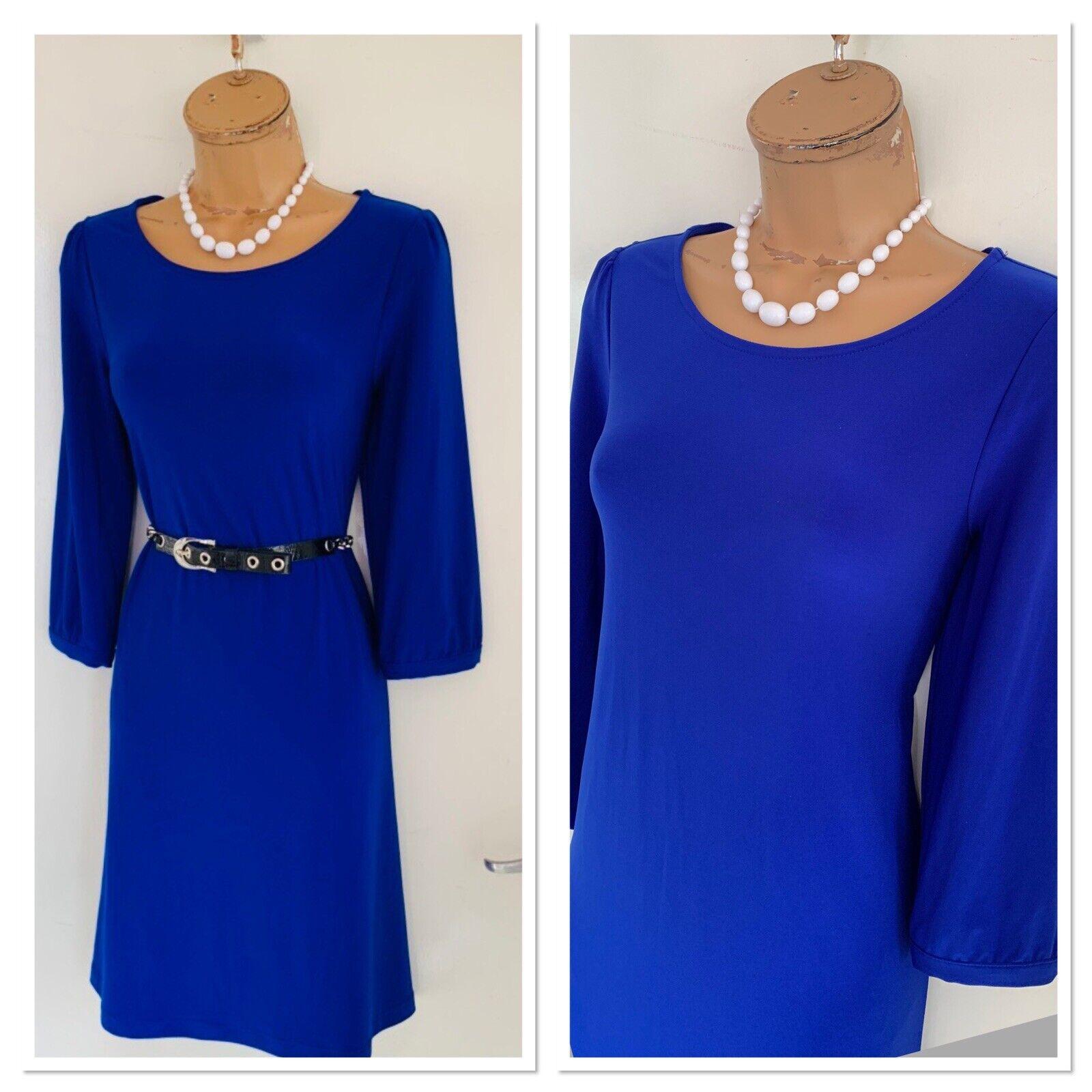 Camisa De Jersey Azul Hermoso Joseph RIBKOFF  vestido tamaño de Reino Unido 10  Tienda de moda y compras online.