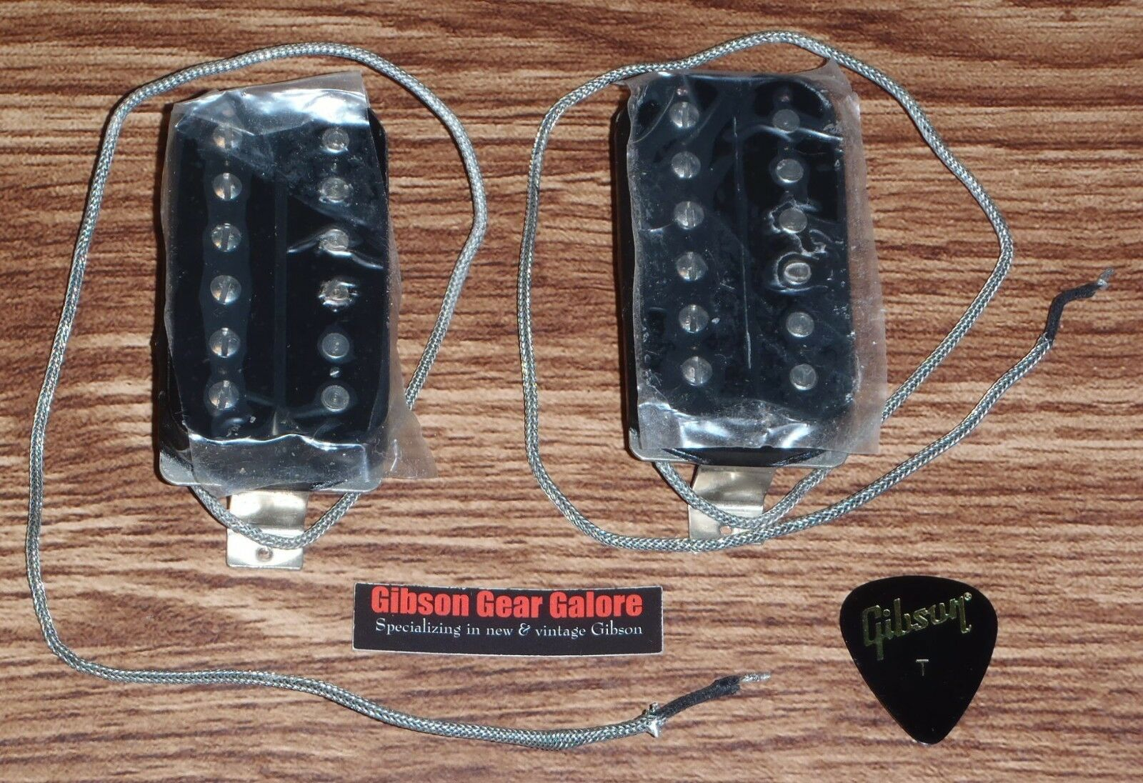 Gibson Les Paul Pickup 1957 Classic Set schwarz 57 Guitar Parts Humbucker SG Plus