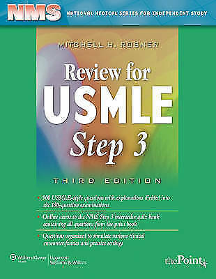 NMS Review for USMLE Step 3 by Andrew E. Lazar, Mitchell H. Rosner...