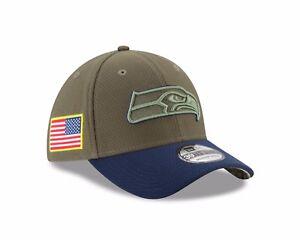 86287094321 Seattle Seahawks New Era 2017 Salute To Service 39THIRTY Flex Hat ...