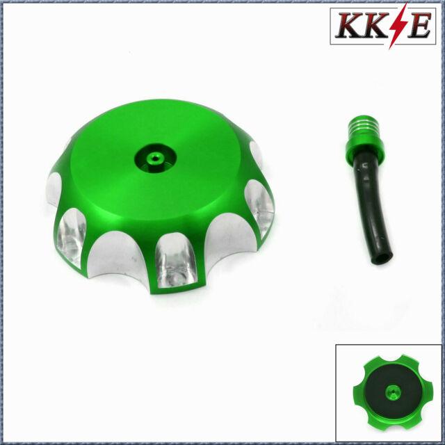 CNC Billet Gas Fuel Tank Cap Cover For KAWASAKI KX450F KX250F KX250 2006-2015