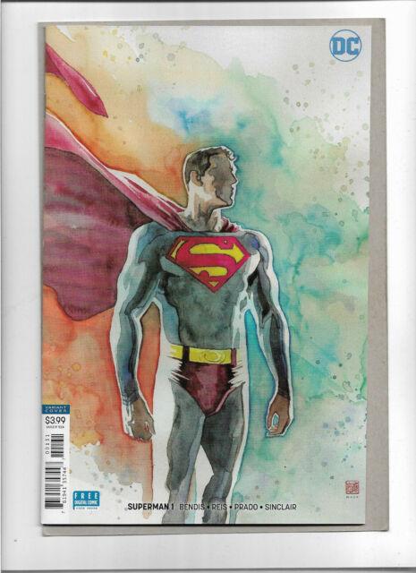 SUPERMAN #1 ***DAVID MACK VARIANT (2018) NM DC COMICS BRIAN MICHAEL BENDIS REIS