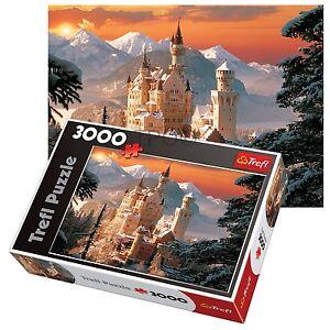 Trefl-3000-Piece-Adult-Large-Neuschwanstein-Castle-Germany-Winter-Jigsaw-Puzzle