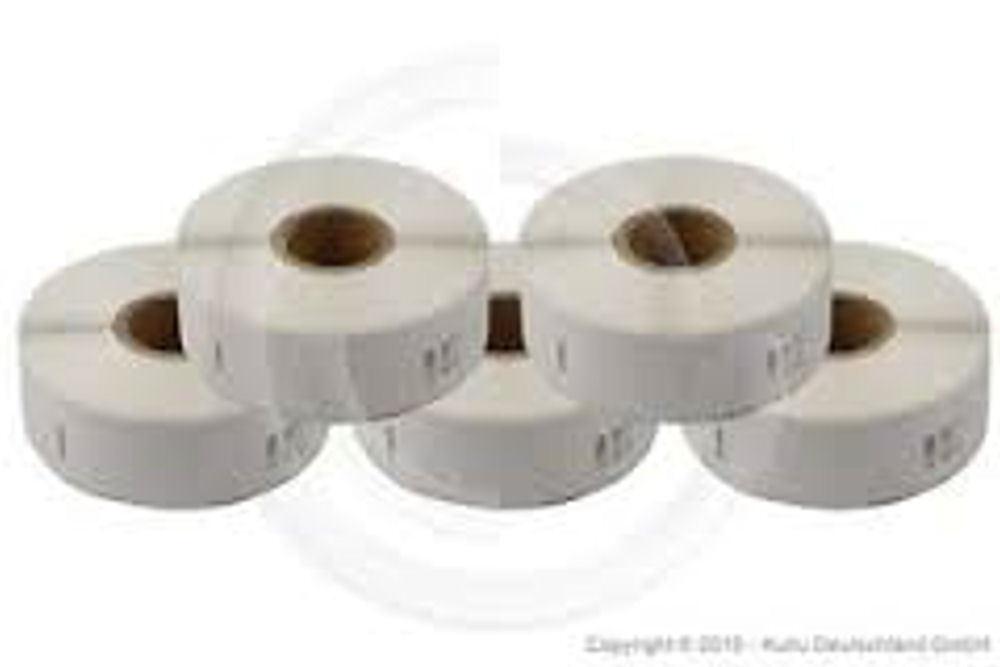 5 rotoli etichette DYMO 11353 13 X 25 mm 5000 etichette compatibili Laberwriter