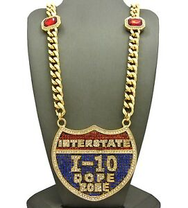 NEW-ICED-OUT-I-10-PENDANT-amp-30-034-10mm-RUBY-MIAMI-CUBAN-LINK-CHAIN