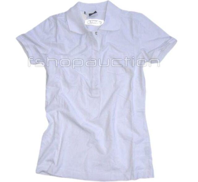 Oakley Cuff White Polo Size S Womens Girls 10 Sport Tee Casual Golf Tshirt Top