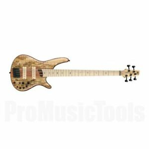 Ibanez SR5SMLTD NTF Premium - Spalted Maple Natural Flat - Limited Edition *NEW*