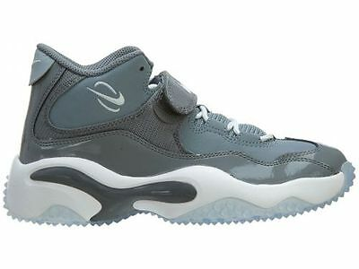 Cool Grey//White//Magnet Grey 643230-002 New Nike Youth Air Zoom Turf GS Shoes