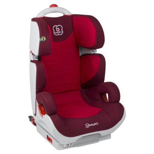 BabyGo Kinderautositz Wega Isofix System Autositz bordeaux NEU