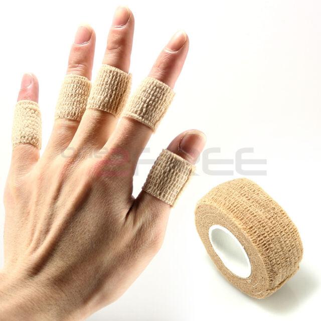 10pcs Flex Wrap Finger Bandage Tape File Nail Art Sports Protective Pain Relief