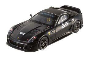 HOTWHEELS-ELITE-1-43-FERRARI-599XX-RACING-NOIRE-N-55