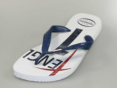 Treu Havaianas Team England Inglaterra Sandale Branco Grau Zehentrenner +neu+