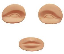 Permanent Make Up Übungskopf Augen und Mund