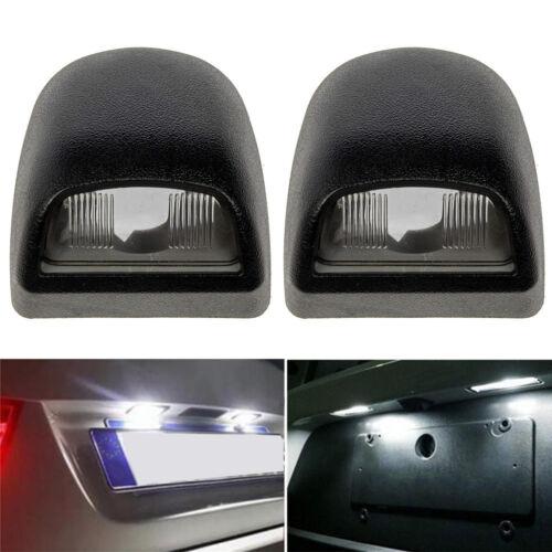 2pcs Rear License Plate Light Lens Set fits Silverado Sierra Pickup Escalade NEW