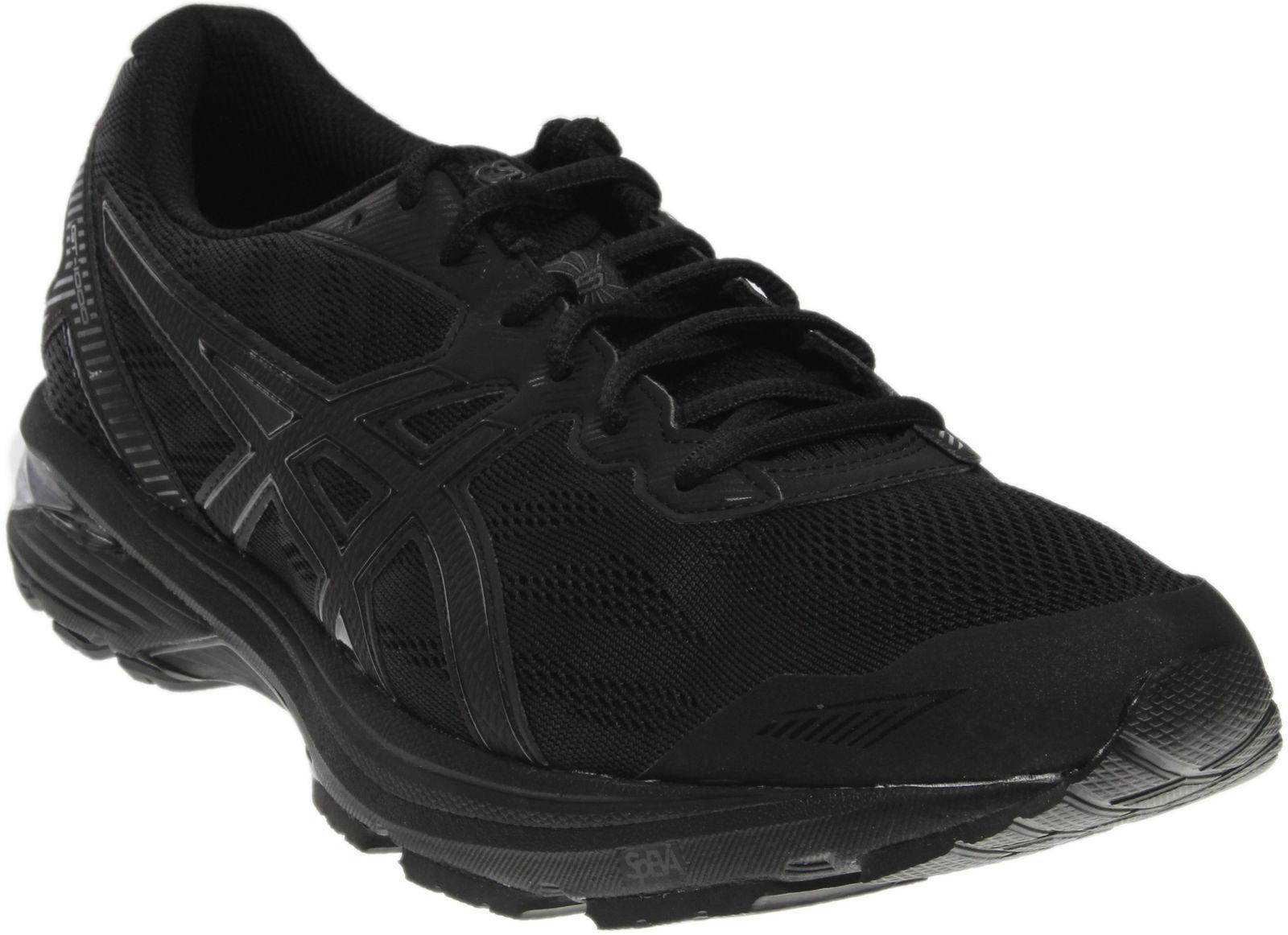hommes Asics GT-1000 5 Running Chaussures noir / Onyx Sz 7.5 T6A3N 9099