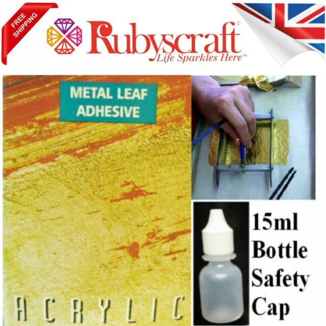 cc27cb8bcf Gold/silver Leaf Size Adhesive Glue Gilding 15ml Bottle Ideal for Small  Projects