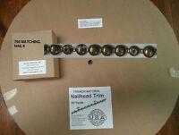 150 Ft French Natural Upholstery Tackstrips Roll Strip Nailhead Trim & 750 Nails