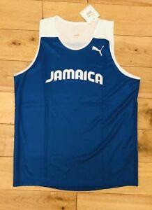 b19210e1bc Puma Jamaica Homme Pro Elite Olympique Boxe Entraînement Débardeur ...