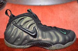7539c0b78c77c Nike Air Foamposite Pro Pine Green Black Gym Green 624041-301 Size ...