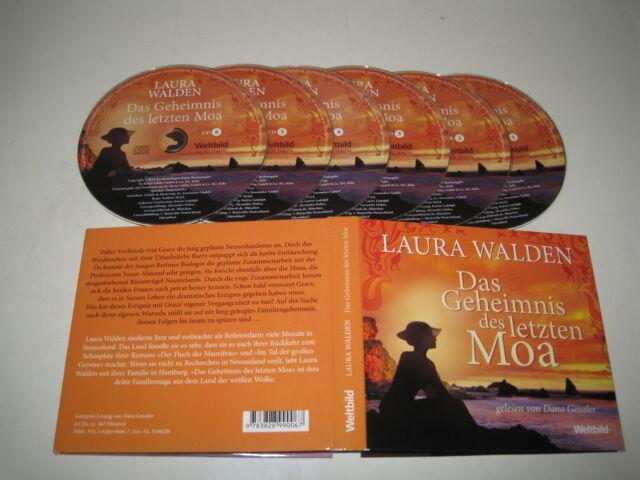 LAURA WALDEN/DAS GEHEIMNIS DES LETZEN MOA(WELTBILD/978-3-8289-9006-7)6xCD ALBUM