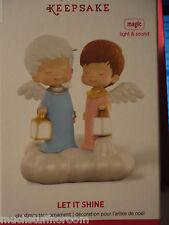 2015 Hallmark Ornament Mary's Angels LET IT SHINE Magic Light Sound NEW