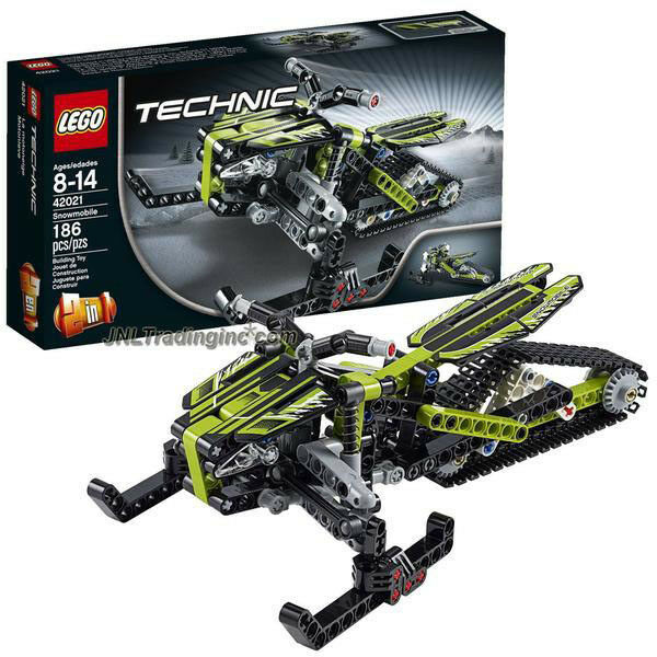 NEW LEGO 2014 Technic Series 2in1 Vehicle Set  42021 SNOWMOBILE/Snow Motorcycle