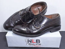 Stafford Leather Men's Lace Up Dress Shoes 19963-8 Size 10 Brown