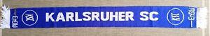 Karlsruher SC Schal scarf sciarpa Fußball Ultras baden Hertha Strassburg KSC HSV