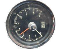 Stewart Warner 9k Cable Drive Mechanical Tachometer Bracket Camaro Shelby Yenko