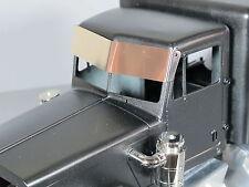 New Tamiya RC 1/14 King Hauler Semi Aluminum Drop Blocking Sun Visor Cover Plate