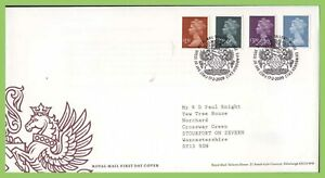 G-B-2009-High-Value-Definitives-on-Royal-Mail-First-Day-Cover-Tallents-House