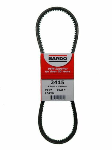 Accessory Drive Belt-DIESEL Turbo Bando 2415