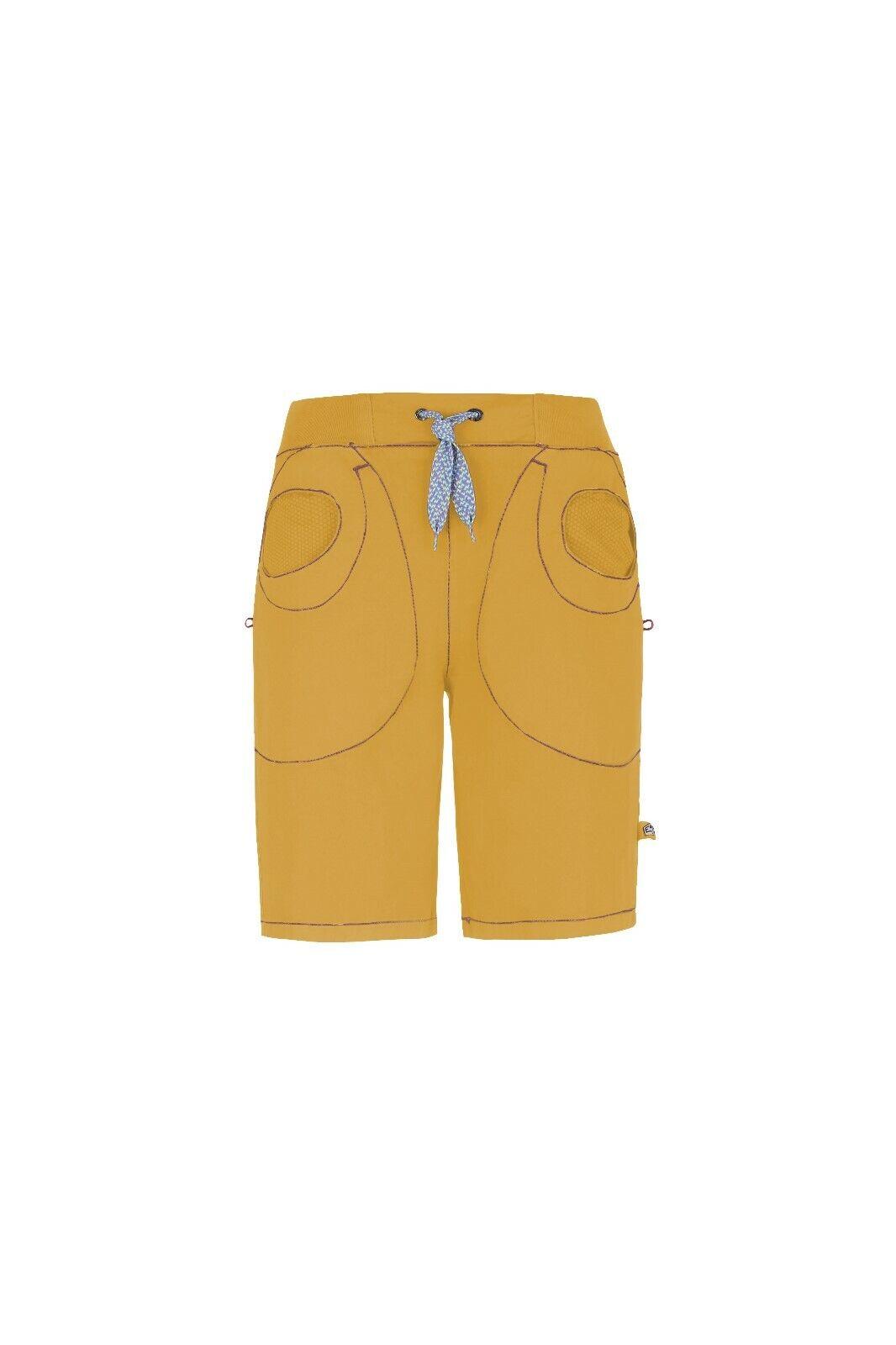 E9 Mix Corto Mujer Cómodo Pantalones Pantalón de Escalada Girasol