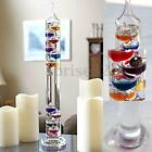17 inch Large Glass Galileo Liquid Thermometer Colorful Temperature Indicator