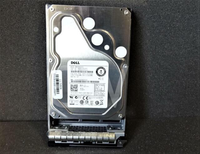 """Dell 1MVTT 4TB Toshiba MG04SCA40ENY 3.5/""""SAS 12Gb//s 7.2K Hard Drive"""