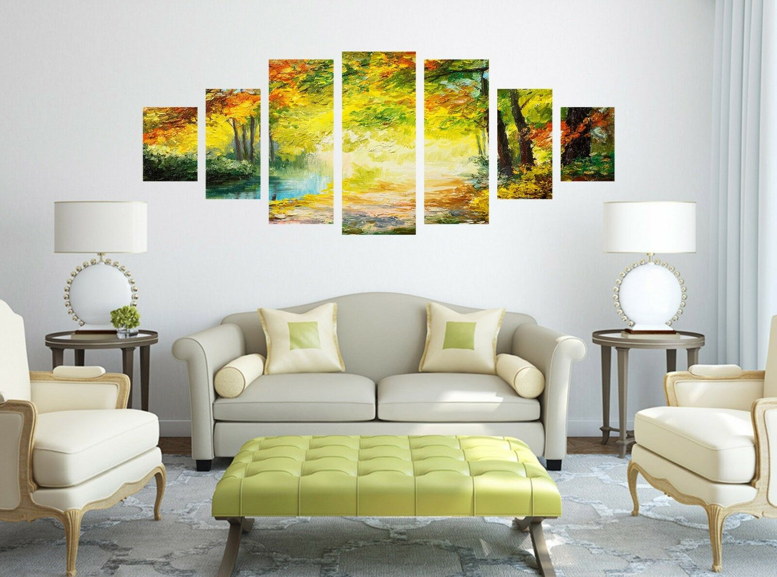 3D Paint Forest 80 Unframed Print Wall Paper Decal Wall Deco Indoor AJ Jenny