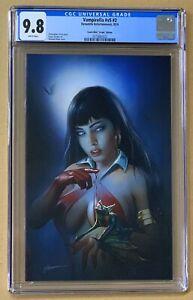 Vampirella-2-CGC-9-8-Shannon-Maer-VIRGIN-Variant-Comic-Mint-1st-Print