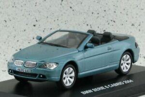BMW Series 6 Cabrio - 2004 - bluemetallic - Edison 1:43
