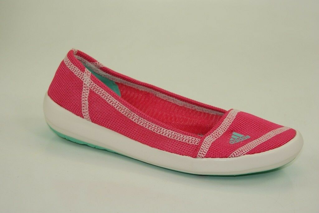 Adidas Boat Slip-On Sleek Slipper Ballerinas Ladies Barefoot shoes Light D67013