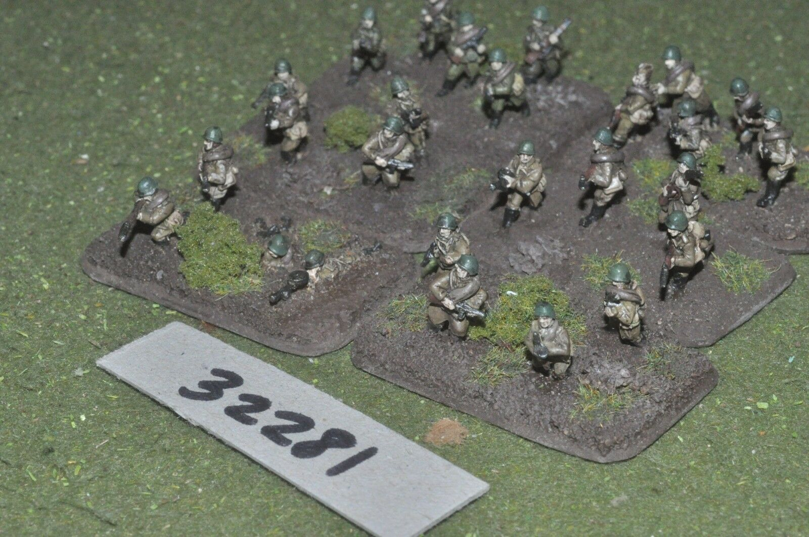 15mm WW2   russian - section 26 figures - inf (32281)