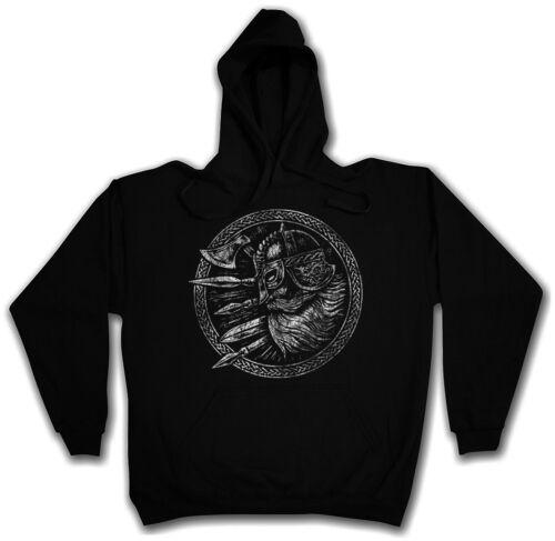 Viking II hoodie rune Valalla Odin THOR VICHINGHI VIKINGS odhin odin thor