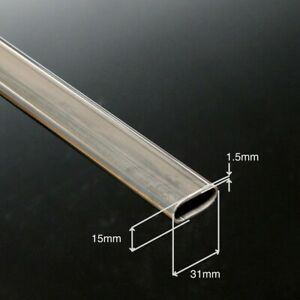 Stainless-Steel-316L-Flat-sided-Oval-Tube-31-x-15-x-1-5mm-18-36-per-0-5m-incP-amp-P