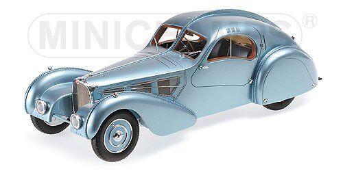 Minichamps 107110320 Bugatti type 57 sc Atlantic - 1936-bleu-M - 1 18  neu OVP