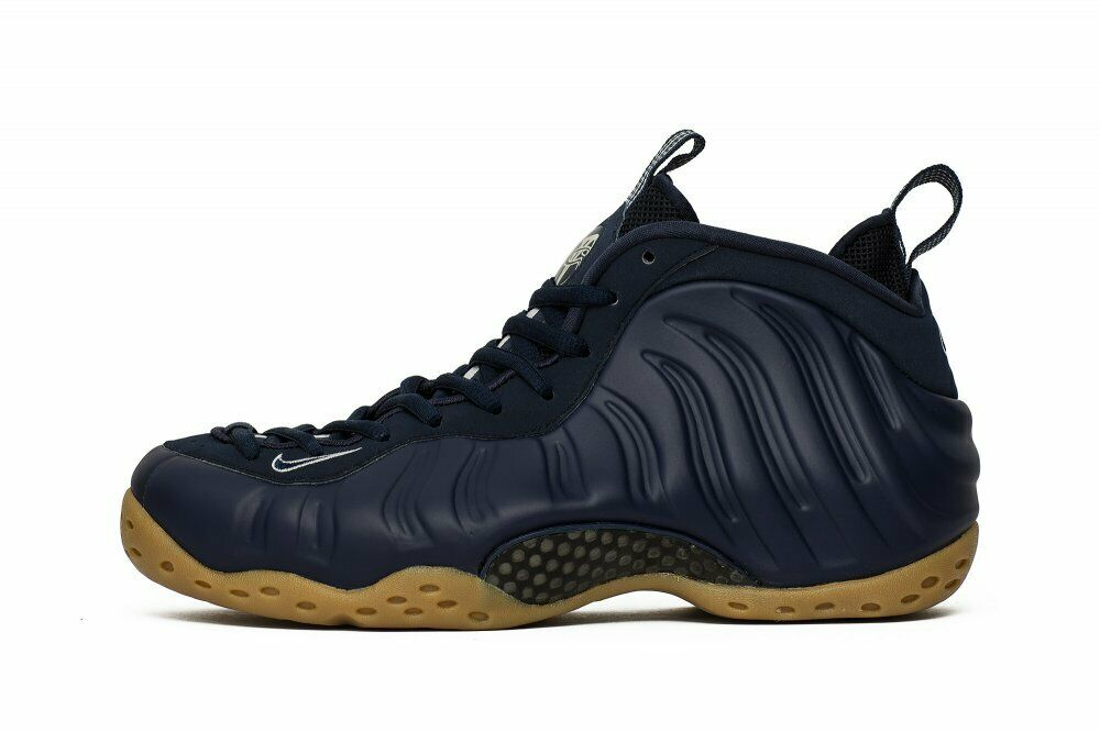 NEW 2019 NIKE AIR FOAMPOSITE ONE MIDNIGHT NAVY blueE GUM 314996-405