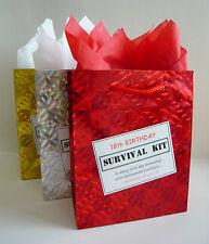 Item 3 MALE 18th Birthday SURVIVAL KIT Humorous Gift Idea Unusual Fun Novelty Present