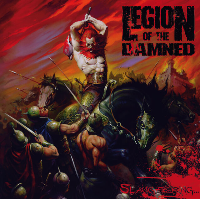 LEGION OF THE DAMNED - Slaughtering - 2DVD+CD Set Digipak - 200634