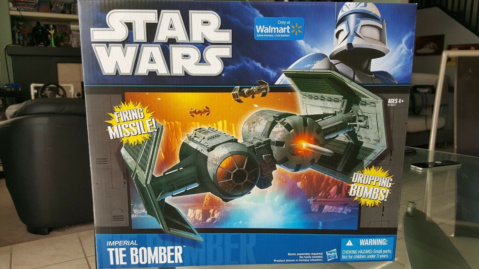 Nuevo Star Wars Imperial Tie Bomber Walmart Exclusivo